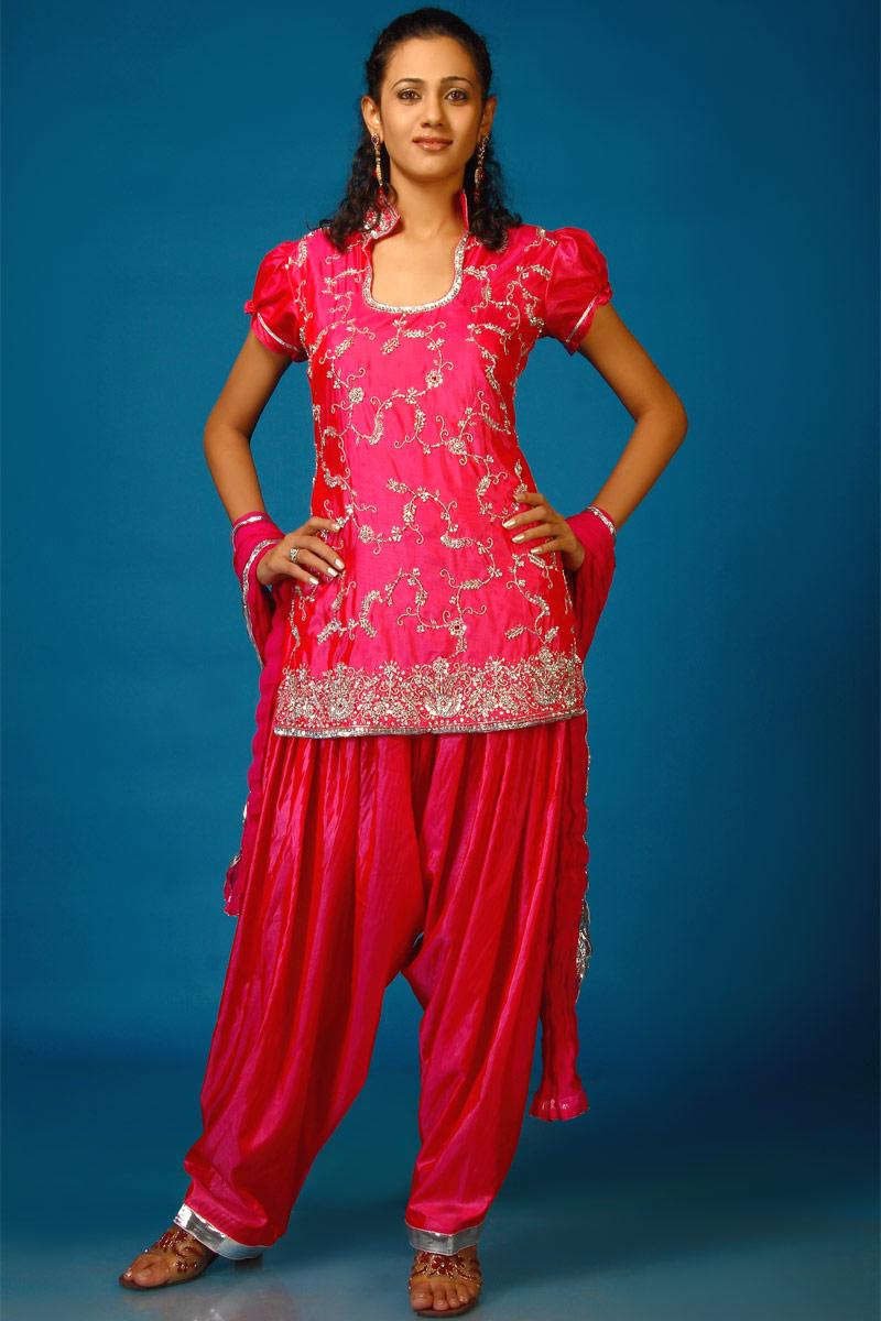Bridal Dresses Short Salwar Kameez Fashion