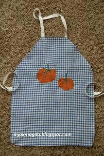 fartuch kuchenny, fartuszek, dla dziecka, dziecięcy, pomidor, pomidorki, tomato, kuchnia, akcesoria, cake, apron,