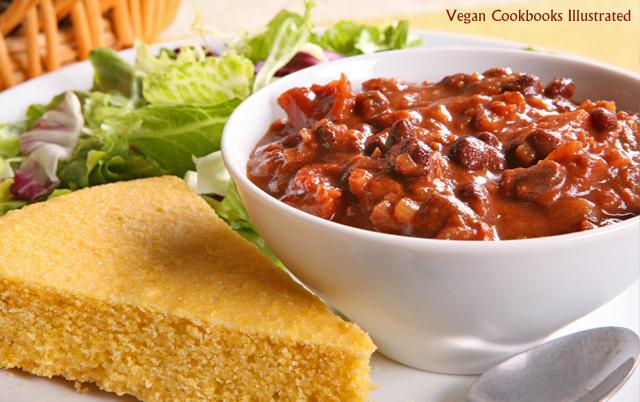 Vegan Cookbooks Illustrated: Smoky Chipotle-Chocolate Chili