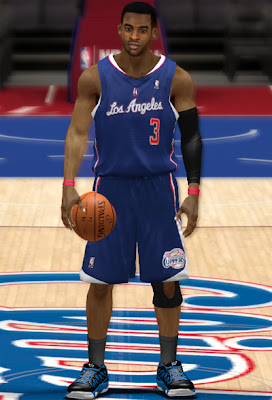 NBA 2K13 Clippers Blue Alternate Jersey Patch