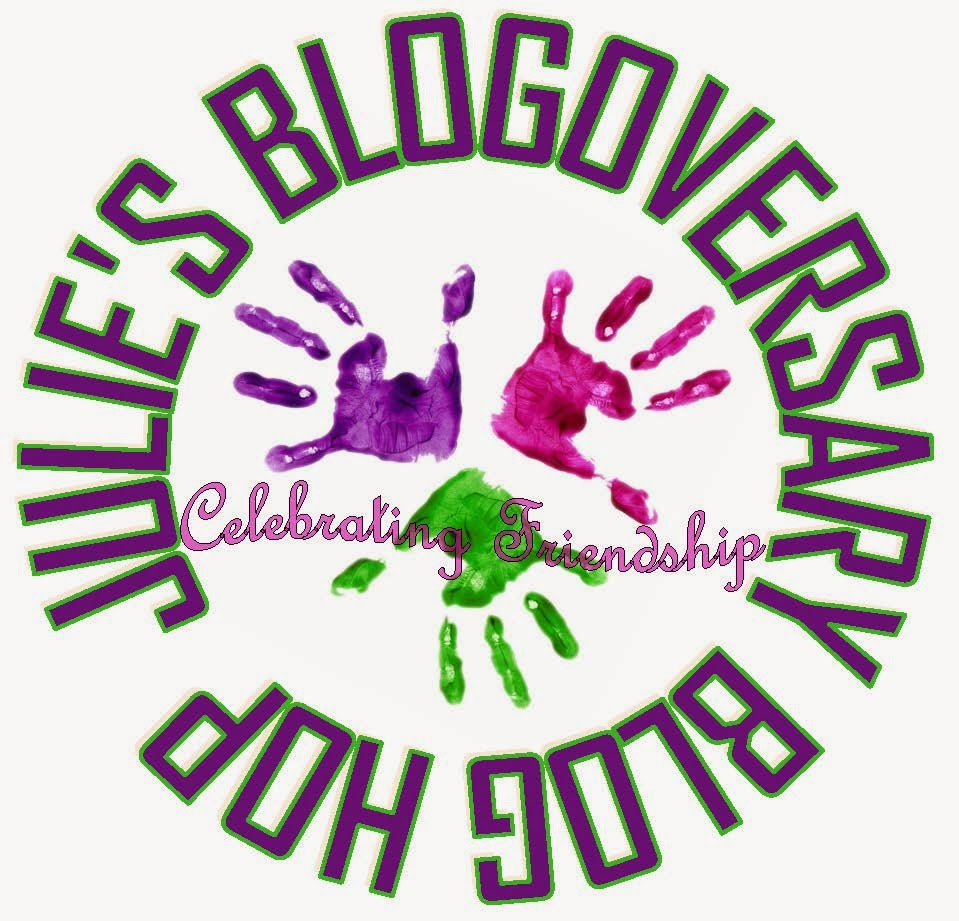 Julies Blogoversary Hop Mar 7-9
