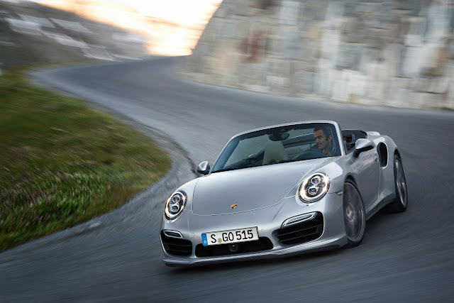 2014 Porsche 911 Turbo and Turbo S Cabriolet: Drop-Top Turbos [Video]