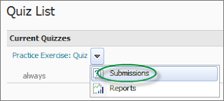 Step 3: Select Submissions.