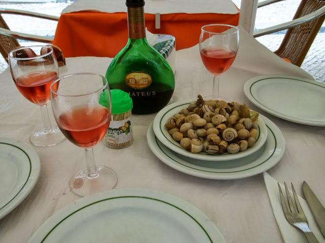 Snails and wine in Lisbon on Semi-Charmed Kind of Life