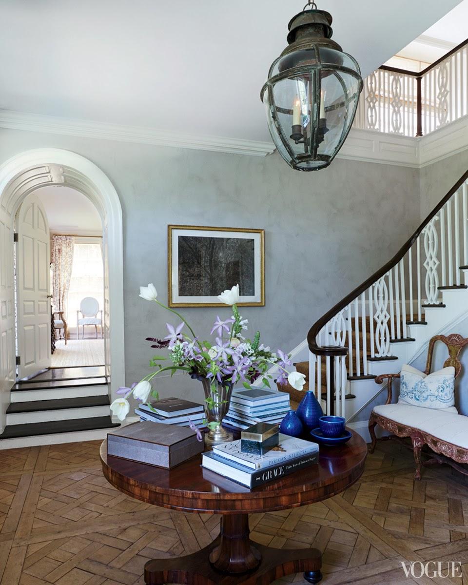 Vogue emilia fanjul pfeifler 39 s home in locust valley for Wallpaper home center