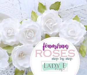 Foamiran Roses
