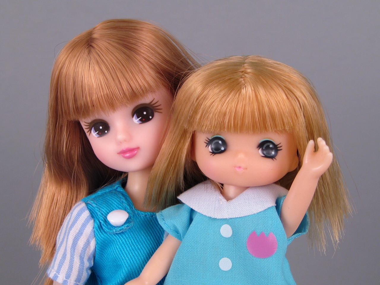 Licca-chan and Miki-chan