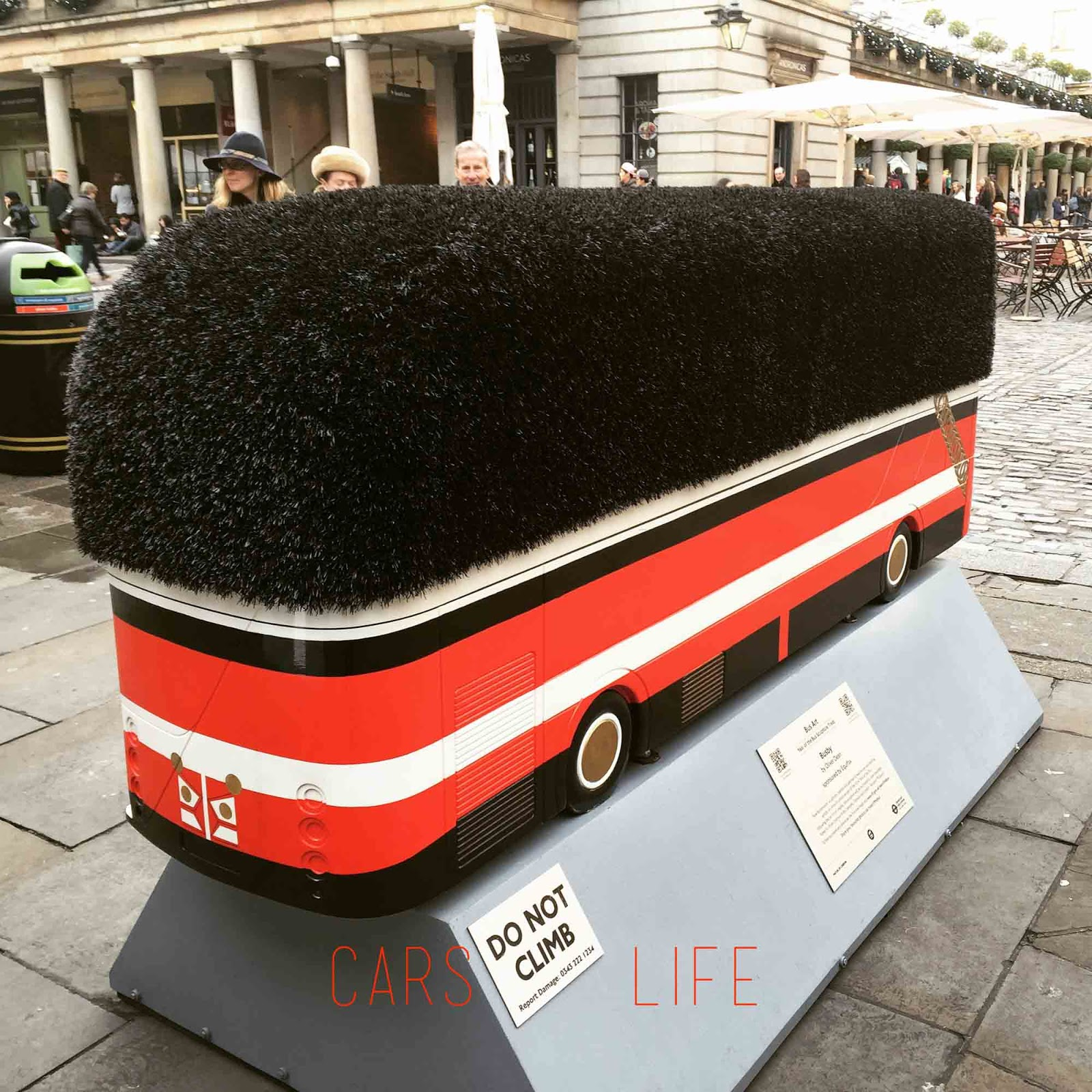 Bus Art Busby by Olive Dean | Covent Garden