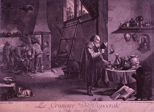 Dr Pierre Galimard. Hippocrate et la Tradition pythagoricienne.