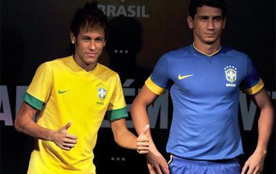 La nueva camiseta de Brasil 2012