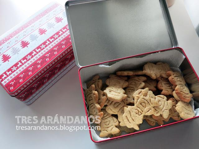 galletas integrales aceite de coco