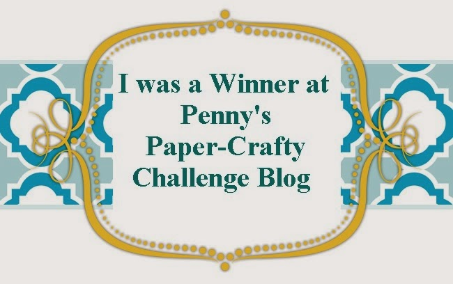 Penny's Paper-Crafty Challenge 151 Winner