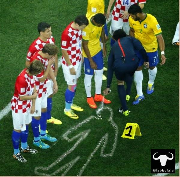 umorismo, Mondiali fifa 2014