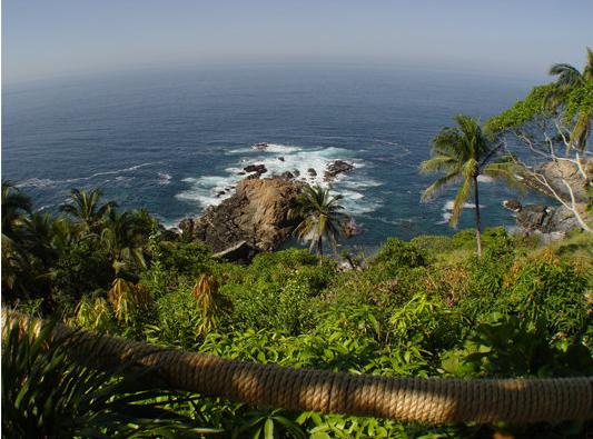 Acantilado en Acapulco