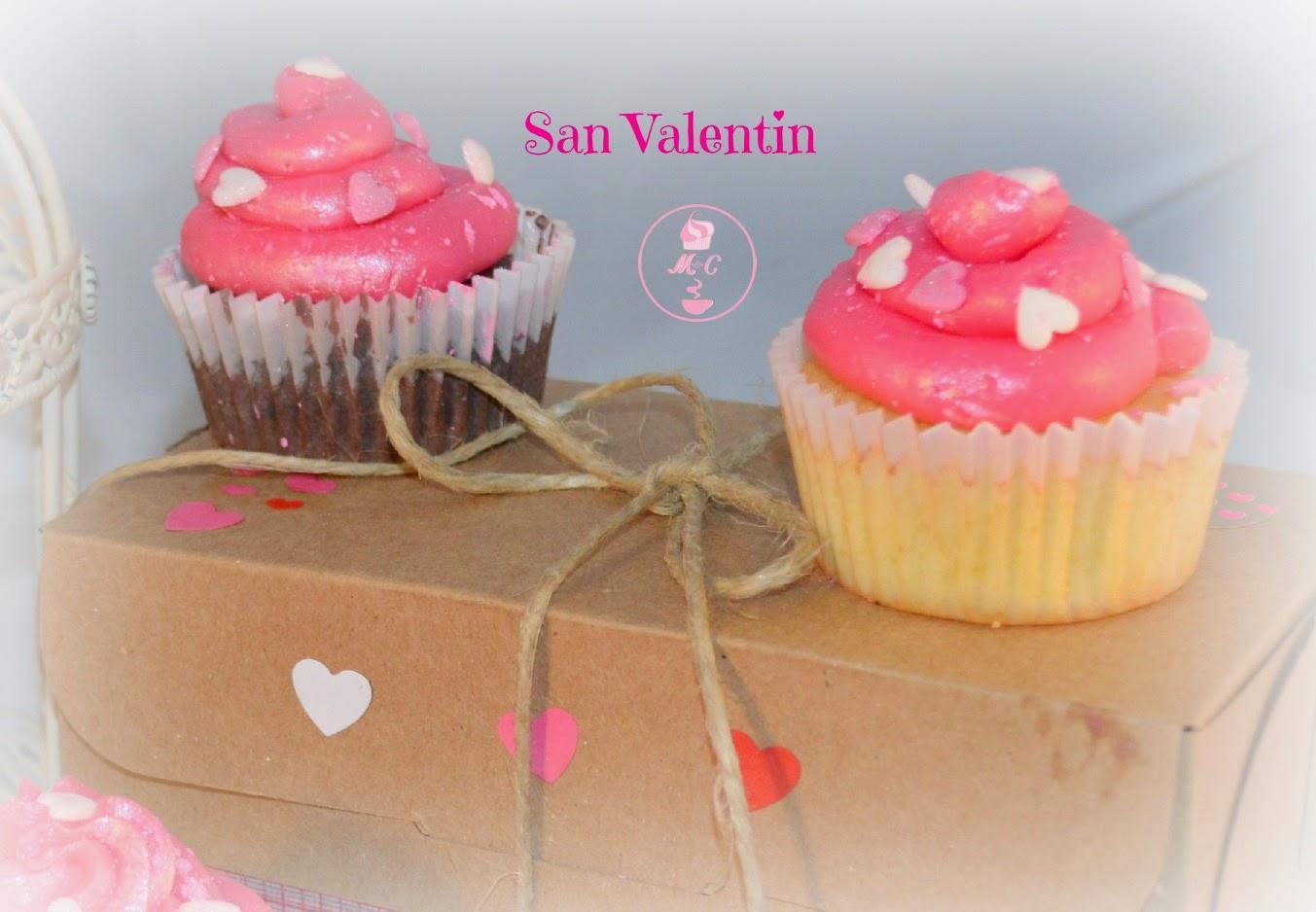 Cupcakes de almendra