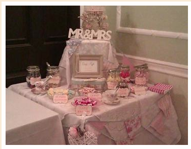 Vintage Sweet Table