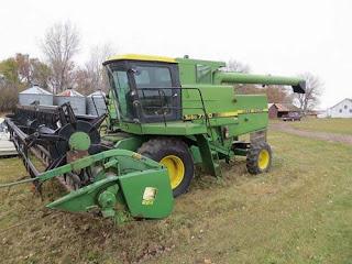 John Deere 7720 combine parts