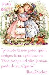 Este es el saludito de Mary♥por el dia del Amigo♥