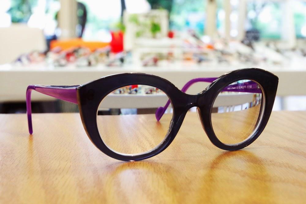 アンバレンタインのサングラスをメガネとして。個性的なお客様でした。