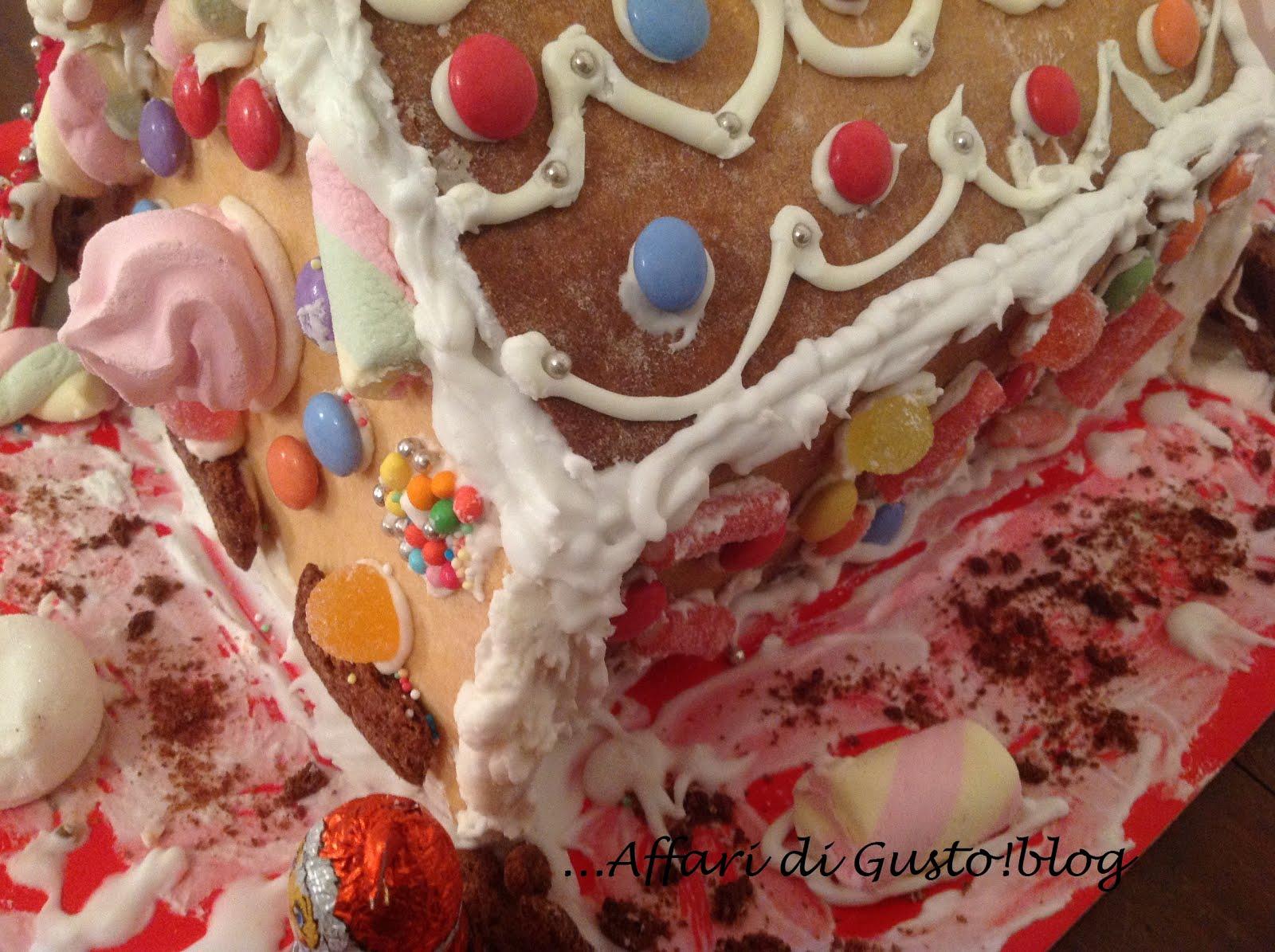 Casetta Di Natale Con Biscotti : Affari di gusto la casetta di natale