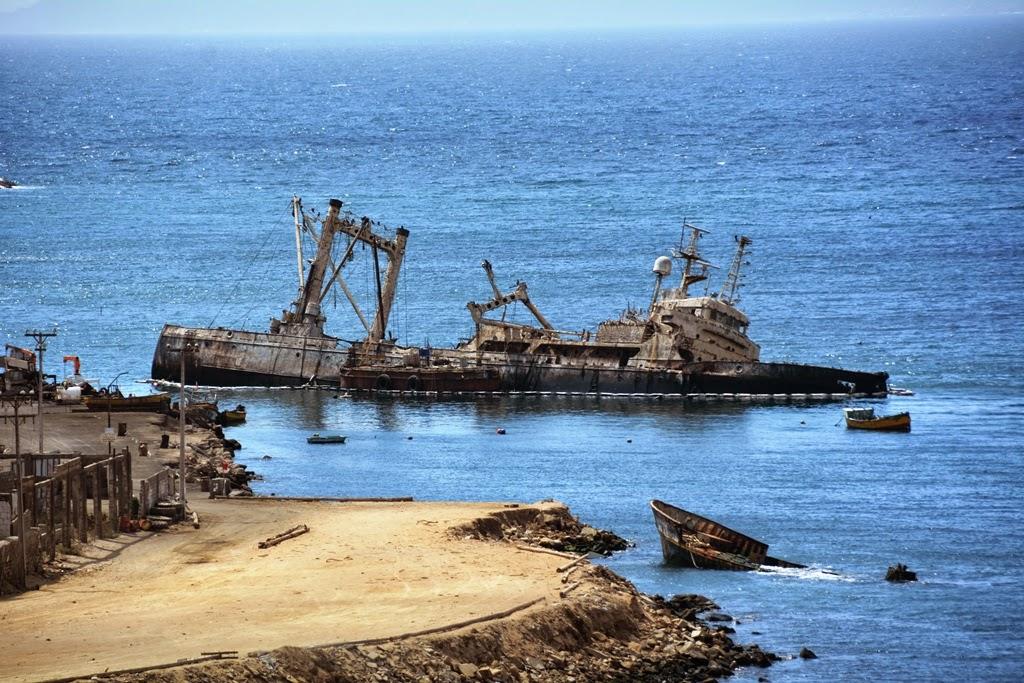 Coquimbo ship wreck