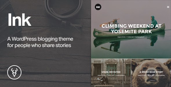 Ink v1.2.7 - A WordPress Blogging theme to tell Stories
