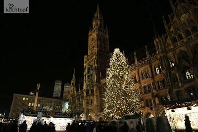 Foto vom Weihnachtsmarkt in München von Zorra