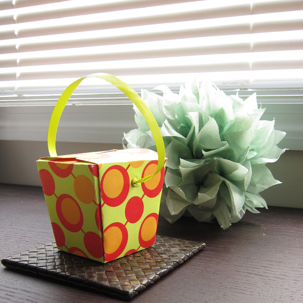 forty weeks crafts diy chinese take out boxes