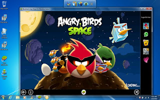 BlueStacks-Angry Birds on Windows