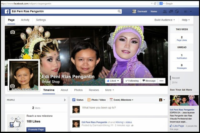 Halaman Facebook : EDI PENI Rias Pengantin Purwokerto | Edipeniwedding.ga