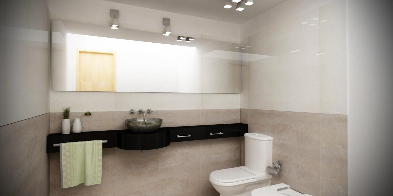 3d interiores ba os for Banos interiores