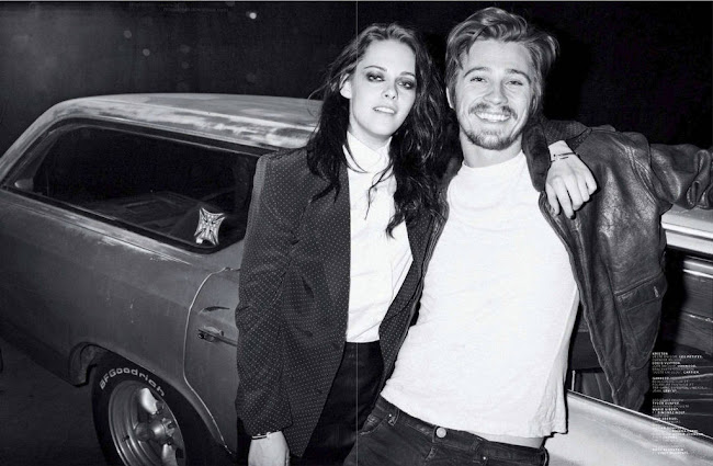 Kristen Stewart and Garrett Hedlund in Jalouse Magazin, photo