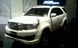 PT. Toyota Astra Motor introduced the Grand New Fortuner who continued