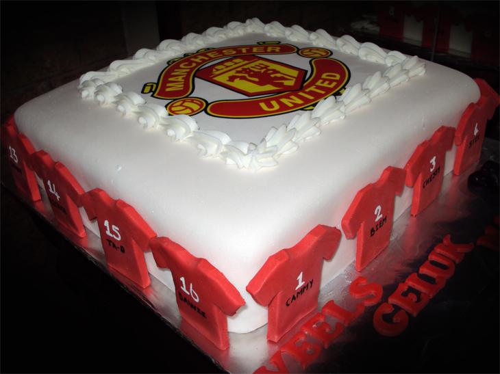 Manchester United Cake Near Me