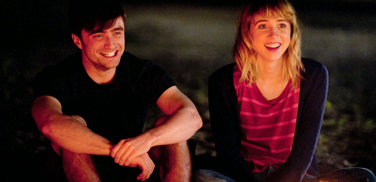 Daniel Radcliffe e Zoe Cazan no trailer da comédia romântica What If
