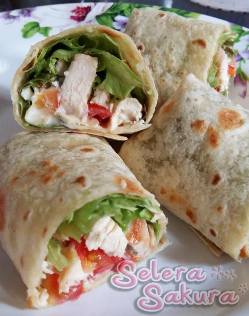 Chicken Wrap - Yummy!