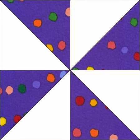 patchworkblok pinwheel