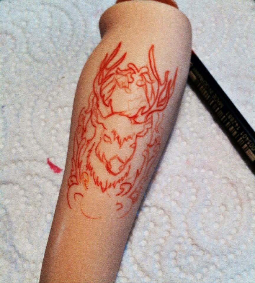 Tatoupourtoi Logiciel gratuit simulation tatouage! - ecriture fine pour tatouage