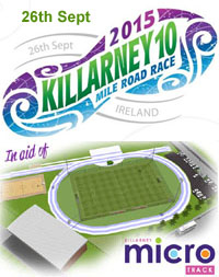 Killarney 10 mile...Sat 26th Sept