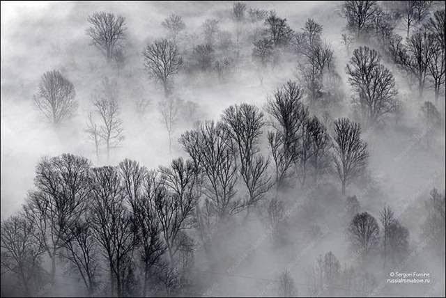 Fog, Nizhny Novgorod region