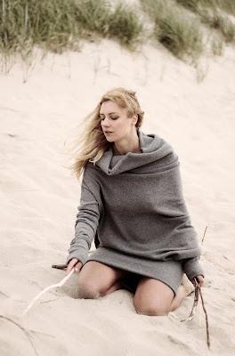 Original design dress - back - le muse - sweater - dress - lithuania