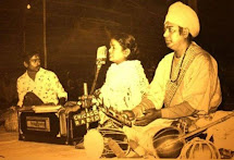 Babukishan, Mom and Dad @ Shantiniketan Pous Baul Mela
