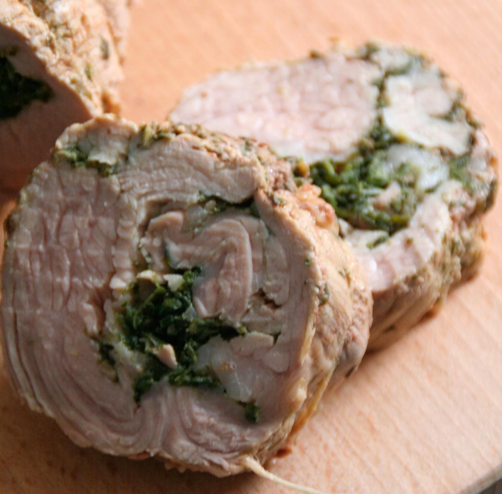 Et charlotte d couvrit la cuisine r ti de veau farci aux epinards - Cuisiner un roti de veau ...