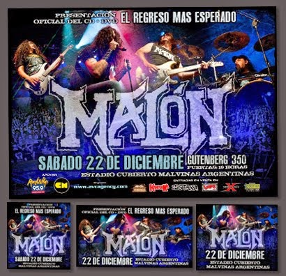 Malón / Presentación DVD - PP Completo