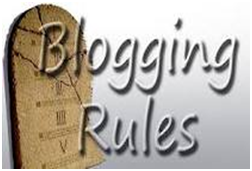 blogging rules and tips
