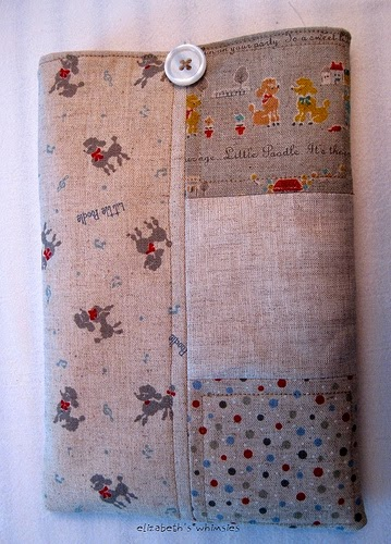 Patchwork Kindle Cover Tutorial