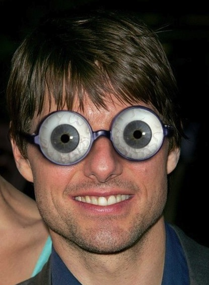 goofy looking glasses