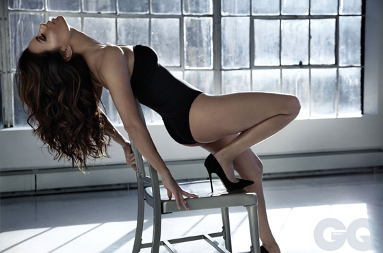 Eva Longoria ultra sexy pour GQ Mexico