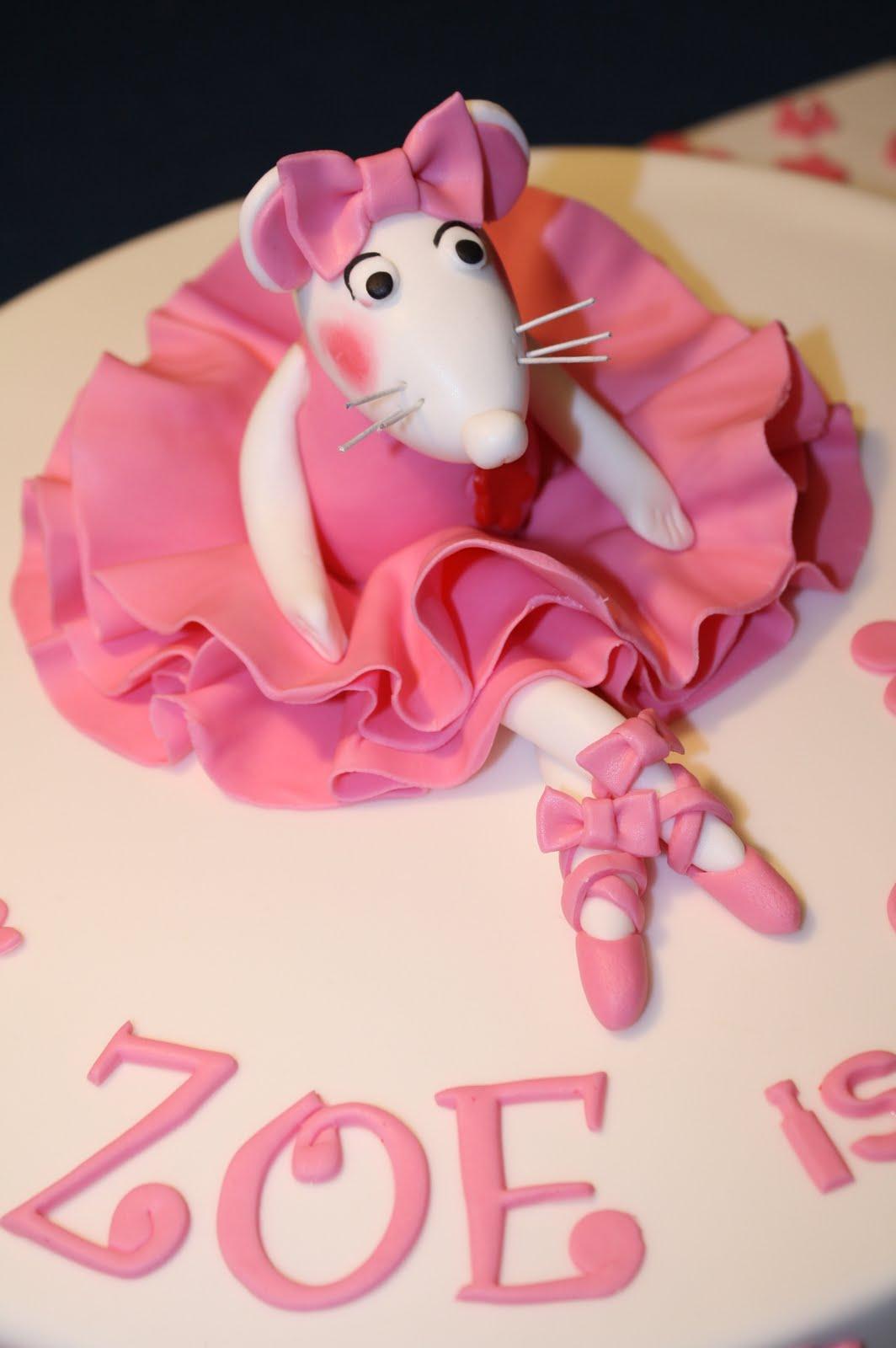Sandys Cakes Zoes Angelina Ballerina