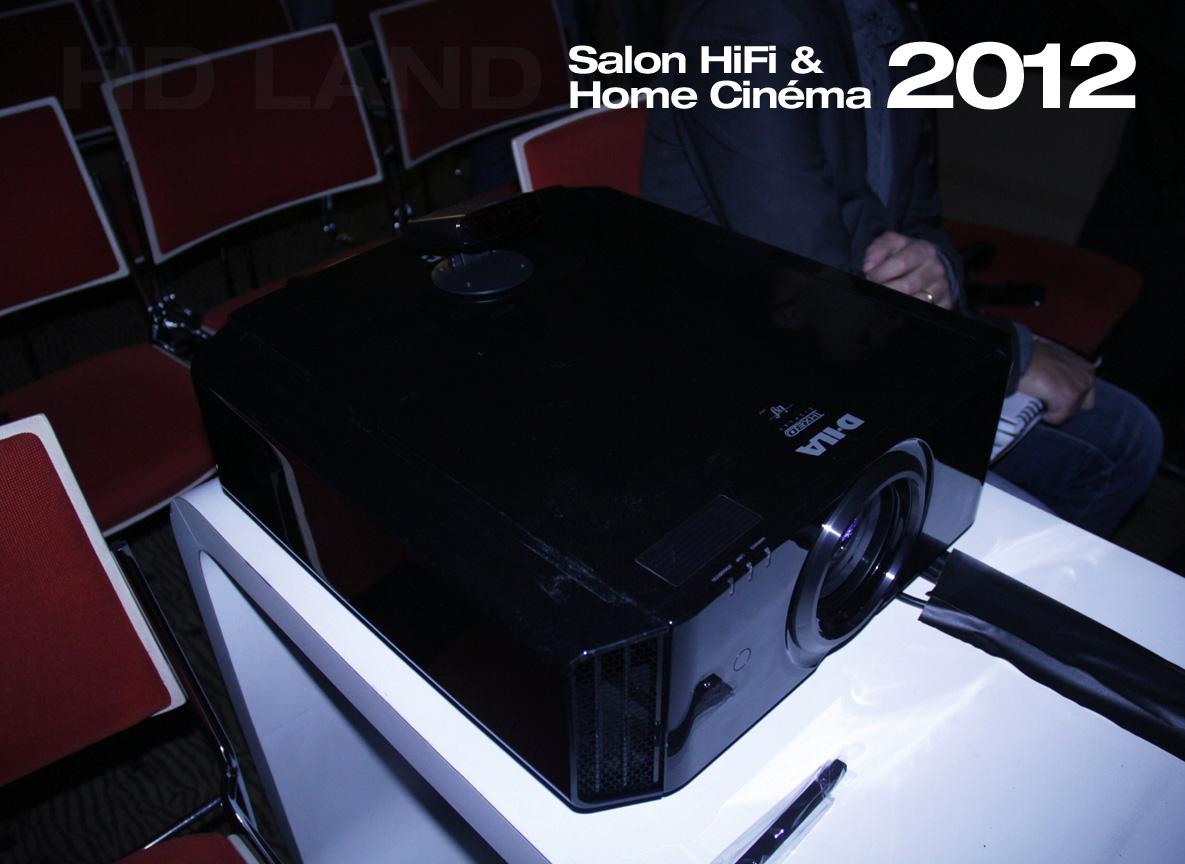 le blog hd land jvc au salon de la hifi et du home cin ma 2012. Black Bedroom Furniture Sets. Home Design Ideas